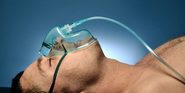 Oxygen by Mask