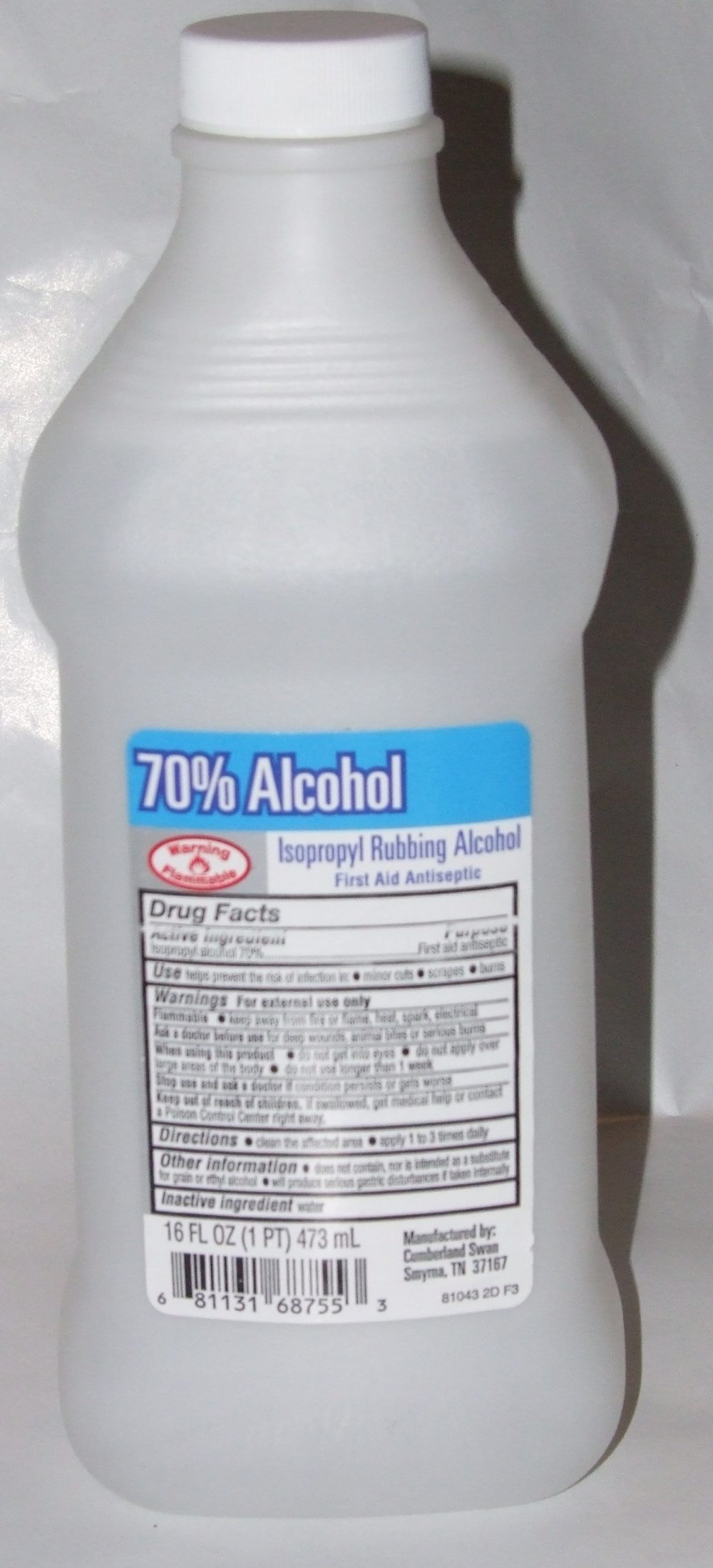 70% Alcohol