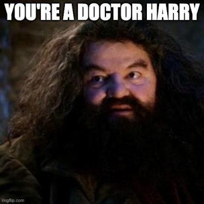 You're a doctor, Harry! Welcome to residency