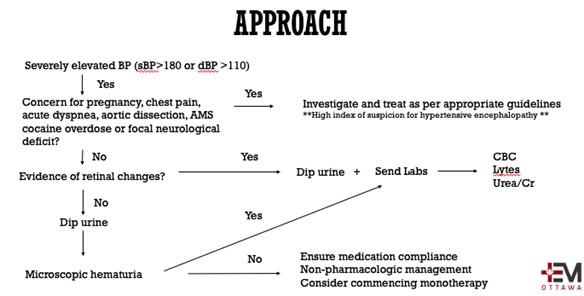 Hypertensive Emergencies Approach