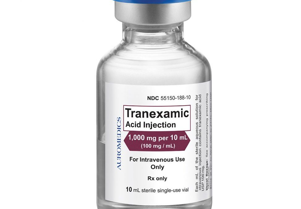 The Use of Tranexamic Acid to Reduce the Need for Nasal Packing in Epistaxis (NoPAC): Randomized Controlled Trial
